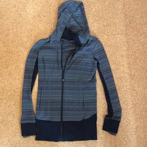 Hooded lululemon jacket